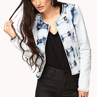Strinking Acid Wash Bandleader Jacket