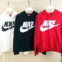 Nike: Women's New Female Sport Leisure Sweater Sweatshirt Hoodie