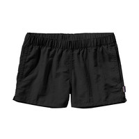 "Patagonia Women's Barely Baggies 2.5"" Shorts- Black"