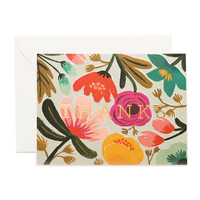 Gold Floral Thank you Card (Set of 8)