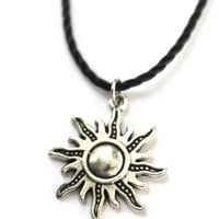 Sun Choker Necklace
