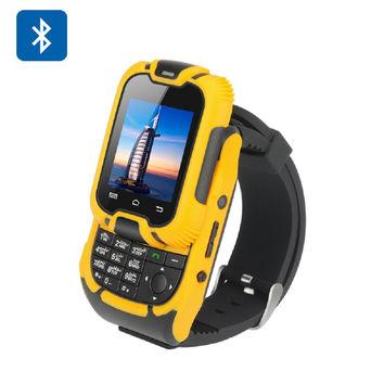 KenXinDa W10 Watch Phone LCD Screen, Bluetooth 3.0, Dual SIM, Camera