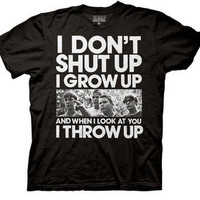 New Stand by Me Movie Cast Picture I Don't Shut Up I grow Men T-shirt tee top
