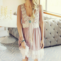Marrakesh Lace Duster