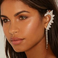 I See Your Point 2-pc Pavé Earring Set