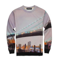 Sunset Bridge Crewneck