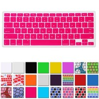HDE Silicone Rubber Keyboard Skin for MacBook Pro (Non-Retina) (Hot Pink)