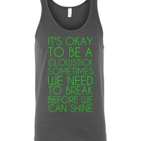 Glowstick Unisex Tank Top