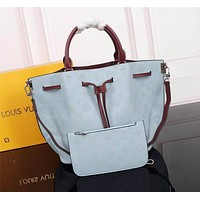 lv louis vuitton women leather shoulder bag satchel tote bag handbag shopping leather tote crossbody satchel shouder bag 80