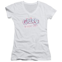Grease - Grease Is The Word Junior V Neck