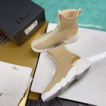 Dior x flying woven socks shoes