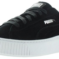 Puma Suede Platform Women's Wedge Fashion Sneakers Shoes