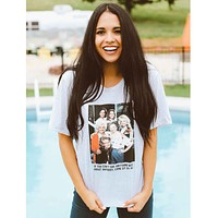 Sit With Us Magnolias Tee