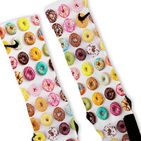 Doughnuts + Donuts Extreme Customized Nike Elite Socks