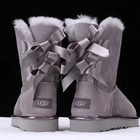 UGG : Women Trending Fashion Wool Snow Boots G