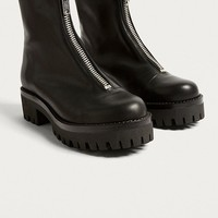 Cleo Zip-Front Boot | Urban Outfitters