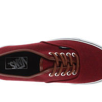 Vans Authentic™ (Washed C&L) Rumba Red - Zappos.com Free Shipping BOTH Ways