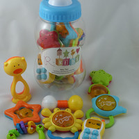 Baby Rattle, Teether and Toy Set from R-Kids