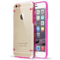 Ultra thin Transparent Glow in dark Phone cases For IPHONE & SAMSUNG