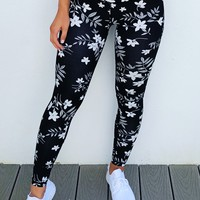 Get It Girl Pants: Black/White