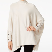 Alfani Turtleneck Poncho Sweater, Only at Macy's - Sweaters - Women - Macy's