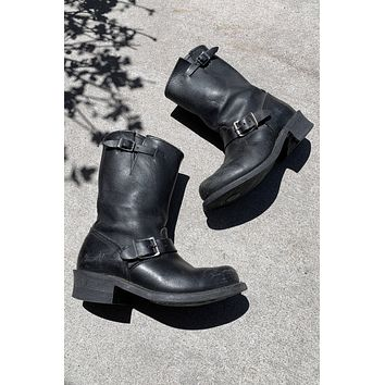 Midnight Rambler Frye Work Engineer Leather Boots - Size 8