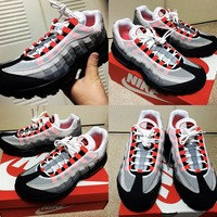 KUYOU NIKE AIR MAX 95 SOLAR RED