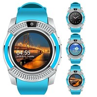 New men\'s and women\'s fashion sports smart watch with music player mobile phone watch with slot SIM card GPS