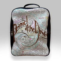 Backpack for Student - Panic at The Disco Lyric Bags