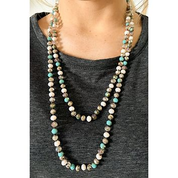 The Way Of The Sea Beaded Necklace  | Colors