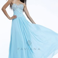 Sweetheart Beading Chiffon Aqua Blue Prom Dress with Zipper up Back Style VAFA075,Beautiful Prom Dresses