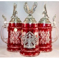 Lord of Crystal Flying Eagle German Stein 0.5 Liter