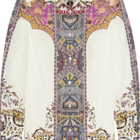 Etro - Printed stretch-cotton shirt