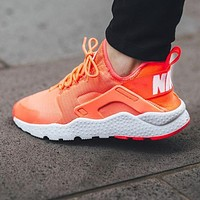 Nike Air Huarache Ultra Orange Casual Running Sport Shoes Sneakers