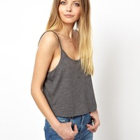 ASOS Cropped Cami Top with Scoop Neck