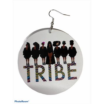 Tribe Earrings | Natural hair accessories | Afrocentric jewelry