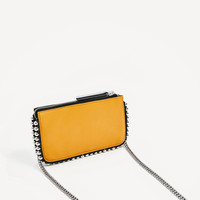 WALLET CROSSBODY BAG WITH STUDS