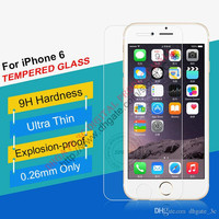 iphone 6 4.7 inch Ultrathin Gorilla 9H 2.5D Tempered Glass Premium Explosion-proof screen protector Film Guard for I6