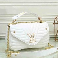 Women Fashion Leather Chain Handbag Crossbody Satchel