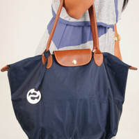 Easily Figured Out Purse: Navy