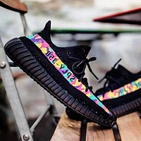 Alwayn ADIDAS YEEZY 350 BOOST X BAPE AAPE Shoes Colorful Camouflage Line SHOES SPORTS SNEAKERS