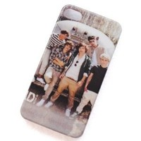 One Direction - Design #16 - Hard Case Cover for iPhone 4 4g & 4s