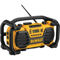 DEWALT DC012 Worksite Radio with Built-in Charger