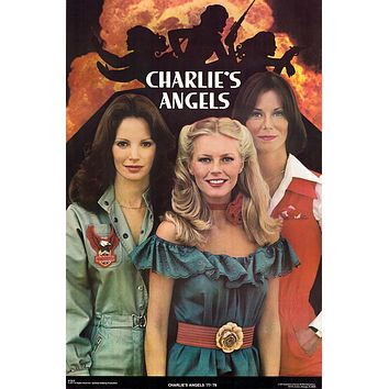 """Charlie's Angels 77-78 Cast Poster 23""""x35"""""""