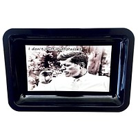 Colorful Metal Rolling Tray - JFK