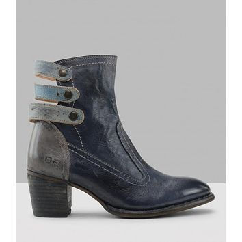 Women's High-heeled Ankle Motorbike Boots