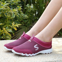 2015 Summer Women Simple Fashion Breathable Casual Shoes Women Sports Running Driving Yoga Gym Shoes = 1714510532