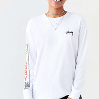 Stussy Standard Long-Sleeve Crew-Neck Tee - Urban Outfitters
