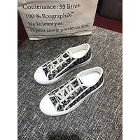Dior Women's Leather Fashion Sneakers Shoes