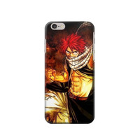 P1731 Fairy Tail Natsu Dragneel Salamander Fire Dragon Slayer Phone Case For IPHONE 6S